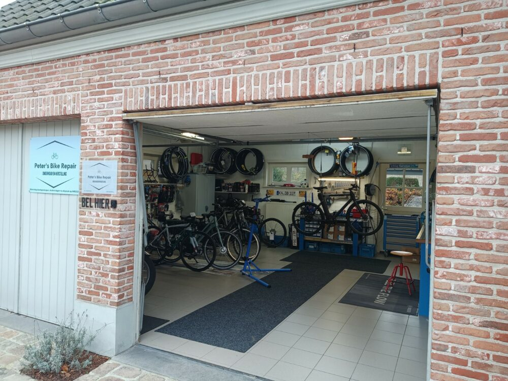 Peter's Bike repair - Atelier open